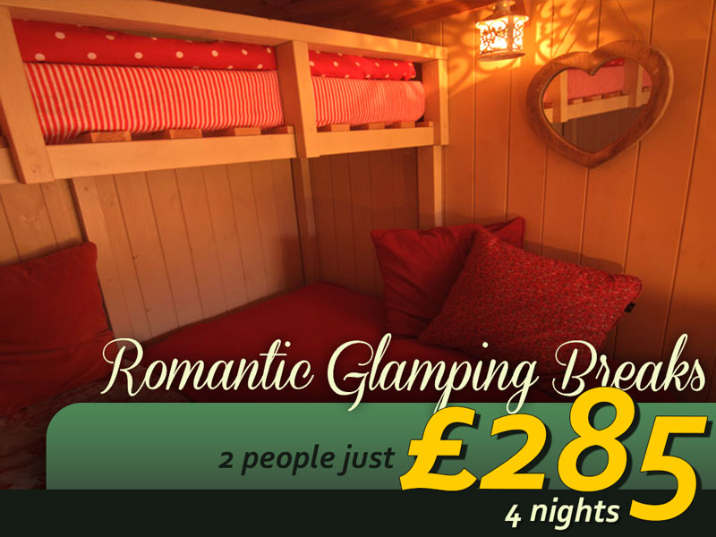 Romantic Glamping Breaks